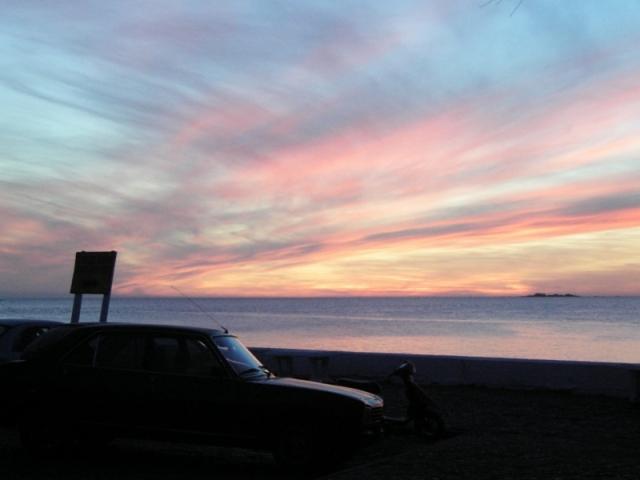 夕景/ウルグアイ、コロニア・デル・サクラメント
