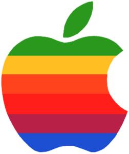 旧アップルロゴマーク